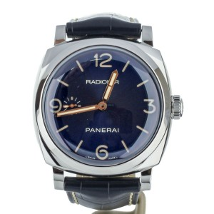 Panerai Radiomir 1940 47mm Blue Dial of 500 S113/500 Ref: PAM 690 Full Set