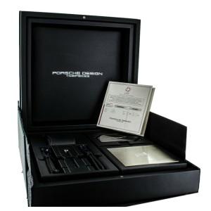 Porsche Design Chronograph 911 Turbo S Black Titanium Ref 6012.6.01.008 Full Set