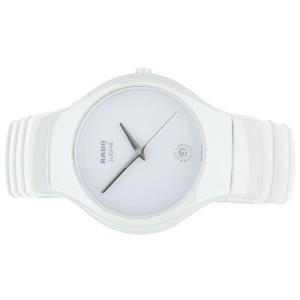 Rado True Jubile White ceramic 40mm  R27695722  complete set