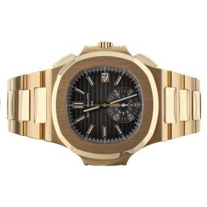 Patek Philippe Nautilus Chronograph Rose Gold 5980/1R-001 Full Set