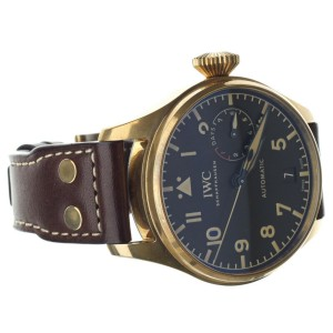IWC Pilot's Watch Big Pilot Heritage Bronze 46mm Ref: IW501005 Full Set