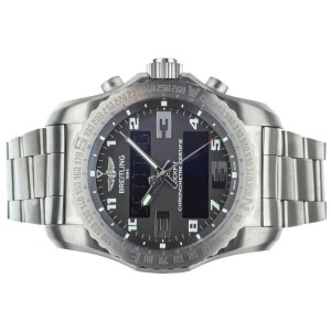 BREITLING B50 COCKPIT TITANIUM 46MM EB5010 BOX AND CHARGING CABLE