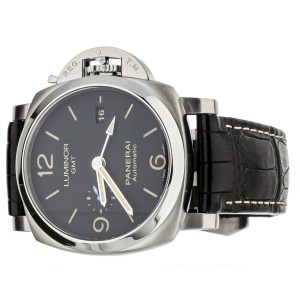 Panerai Luminor 1950 GMT 44mm PAM 320 Stainless Steel Complete Set