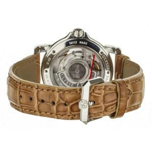 Ulysse Nardin San Marco GMT Salmon Diamond Dial 37mm 223-22/30-09 Full Set