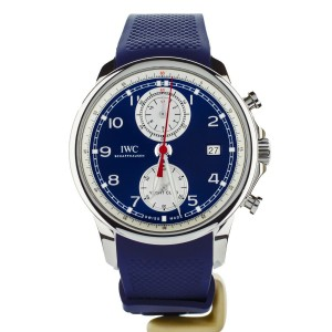 IWC Portuguese Yacht Club Summer Edition Blue Dial 43mm Ref: IW390507 Full Set