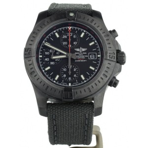 Breitling Colt Chronograph Black Steel Limited Edition 44mm M13388 Full Set