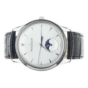 Jaeger-LeCoultre Master Ultra Thin Moon Stainless Silver 39mm Q1368420 Full Set