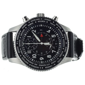 IWC PILOT'S TIMEZONER CHRONOGRAPH WORLDTIMER 46MM IW395001 FULL SET