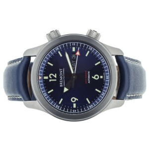 Bremont U2 Pilot Stainless Steel Blue Dial Day Date 43mm U-2/BL Full Set