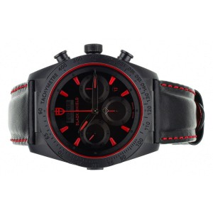 Tubdor Fastrider Black Shield Ceramic Chronograph 42mm 42000CR Full Set