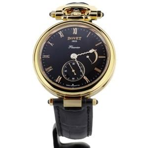 Bovet Amadeo Fleurier Rose Gold Pocket Watch Conversion 43mm AF43003 Full Set