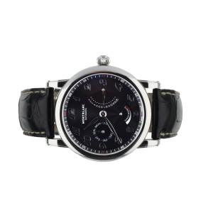 Montblanc Star Retrograde 42mm Black Dial 106528 Full Set