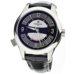 Perrelet Maestro 5 minute repeater Stainless Steel 43mm A1038/1 Full Set