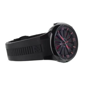 Perrelet Turbine Diver Stainless Steel Black Dial Red 44mm A1047 Full Set