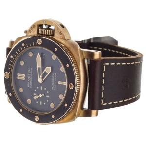 Panerai Luminor Submersible  Bronzo Brown Dial 47mm PAM968 Full Set