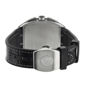 Frank Muller Vanguard Chronograph Titanium Black Dial 44mm V45 CC DT Black