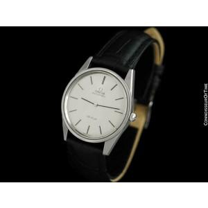 1973 OMEGA De Ville Vintage Mens Stainless Steel Watch - Mint with Warranty