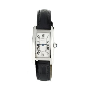 Cartier Tank Americaine White Gold White dial 35X19mm 2489