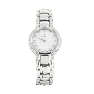 Ebel Beluga Stainless Steel Mother of Pearl Dial E9157428-30 27mm Complete Set