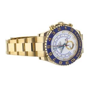 ROLEX YACHT-MASTER II 44MM YELLOW GOLD REGATTA TIMER COMPLETE SET REF: 116688