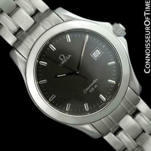 Omega Seamaster 120M Professional Divers SS Steel Watch - Mint with Warranty