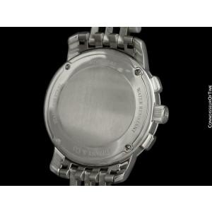 TIFFANY & CO. Mark Atlas Chronograph Mens SS Steel - $5100, Mint with Warranty