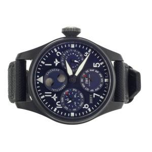IWC Big Pilot Perpetual Calendar Rodeo Drive 46mm Blue Dial IW503001 Full Set