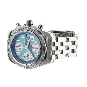 Breitling Cockpit Chronograph Tiffany Blue Dial 39mm A13358 Watch Only