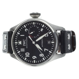 IWC Big Pilot's Watch Black Dial Stainless Steel 46mm IW501001 Full Set