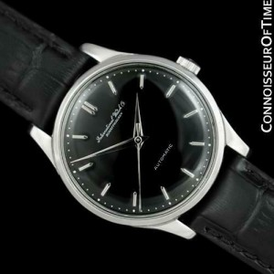1958 IWC Vintage Mens Full Size Cal. 852 Stainless Steel Watch - Mint - Warranty