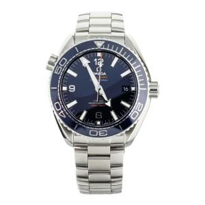 Omega Seamaster Planet Ocean 600m Steel Blue Dial 43.5mm 21530442103001 Full Set