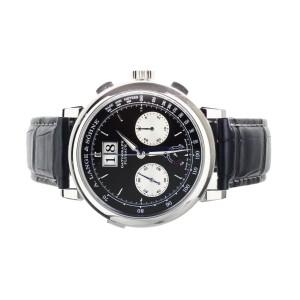 A.Lange & Sohne Datograph Up/Down Platinum Black Dial 41mm 405.035 Full Set
