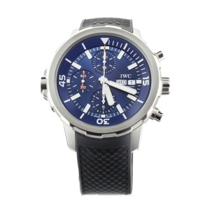 IWC Aquatimer Chronograph Stainless Steel Blue Dial 44mm IW376805 Full Set