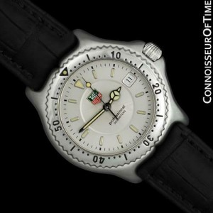TAG HEUER PROFESSIONAL SEL Mens SS Steel Divers Watch - Mint with Warranty