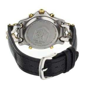 Tag Heuer Senna SEL Stainless Steel Yellow Gold Chronograph Quartz 39mm CG1123-0