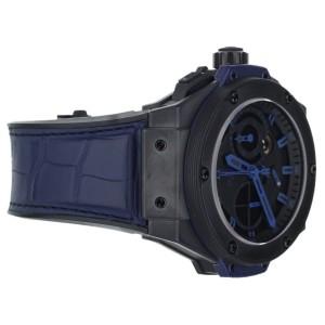 Hublot King Power Split Second Vendome All Black Blue 48mm 709.C.1.1190.GR.ABB10