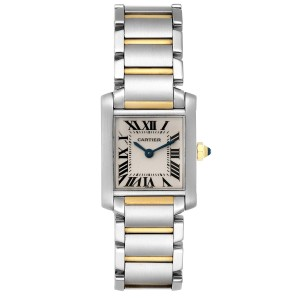 Cartier Tank Francaise 20mm Steel Yellow Gold Ladies Watch