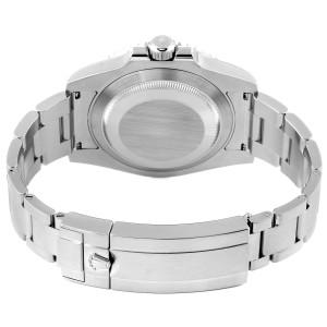 Rolex Submariner 40mm Ceramic Bezel Steel Watch 114060
