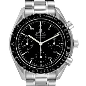 Omega Speedmaster Reduced Hesalite Crystal Automatic Mens Watch 3510.50.00
