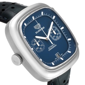 Tag Heuer Silverstone Blue Dial Limited Edition Mens Watch CAM2110 Card