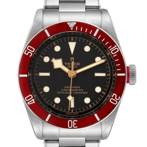 Tudor Heritage Black Bay Burgundy Bezel Mens Watch 79230R