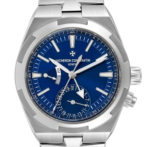 Vacheron Constantin Overseas Dual Time Blue Dial Watch 7900V