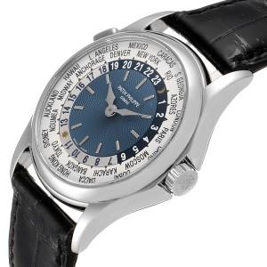 Patek Philippe World Time Complications Platinum Watch 5110