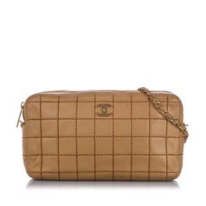 Wild Stitch Chain Lambskin Leather Shoulder Bag