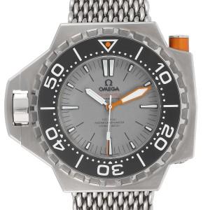 Omega Seamaster Ploprof 1200m Titanium Mens Watch 227.90.55.21.99.001