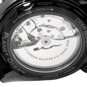 Omega Planet Ocean Deep Black Ceramic GMT Watch 215.92.46.22.01.001