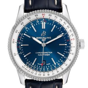 Breitling Navitimer 1 Blue Dial 41mm Steel Mens Watch A17326