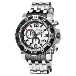Stuhrling Prestige Marine Pro 319127-100 Stainless Steel 50mm Watch
