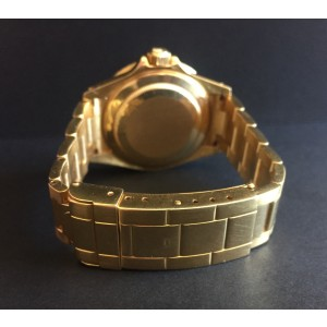Rolex Submariner 18K Yellow Gold 40mm Watch