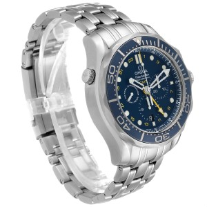 Omega Seamaster 300 GMT Chronograph Watch 212.30.44.52.03.001